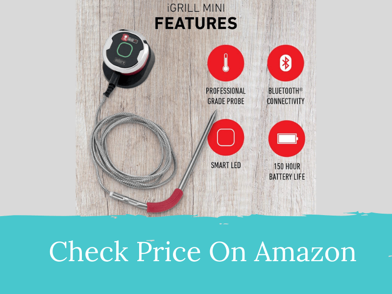 Weber iGrill Mini Bluetooth Meat Thermometer
